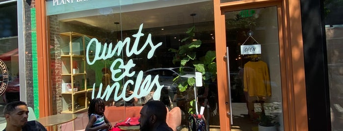 Aunts et Uncles is one of veg out.