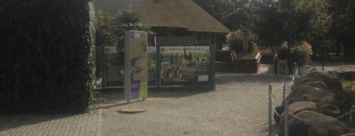 Zoo Hoyerswerda | Zwěrjenc Wojerecy is one of Gespeicherte Orte von Steffen.