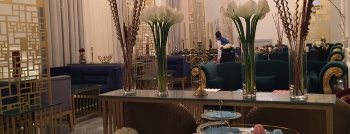 Le D'or Cafe & Lounge is one of Riyadh's Cafés and Restaurants.