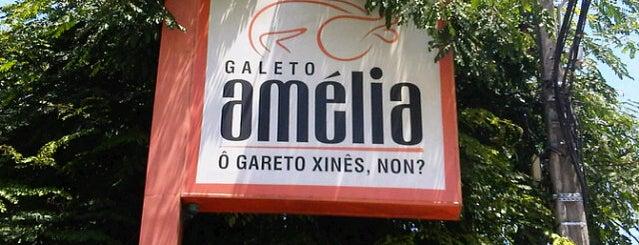 Galeto Amélia is one of Locais curtidos por Carolina.