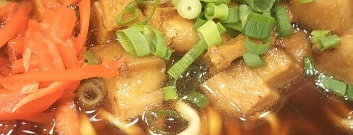 沖縄そば食堂 海辺そば屋 is one of สถานที่ที่ arapix ถูกใจ.