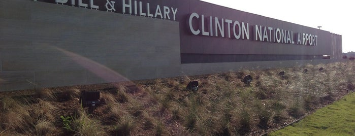 Bill and Hillary Clinton National Airport (LIT) is one of Airports been to.