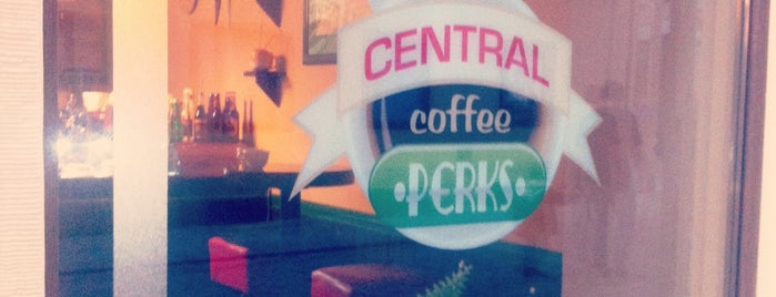 Central Coffee Perks is one of Toruń.