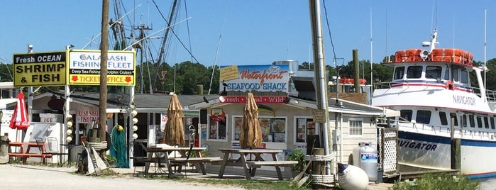 Waterfront Seafood Shack is one of ocean isle.