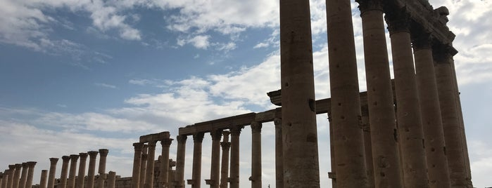 Archaeological Site of Palmyra is one of Middle East.