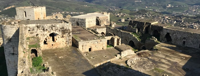 Krak des Chevaliers is one of Asia & Oceania.