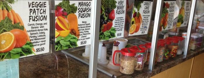 Fuel Juice Bar is one of Tempat yang Disimpan Allison.