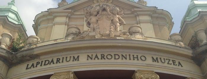 Lapidárium Národního muzea is one of Pražská muzejní noc 2016 | Prague Museum Night.