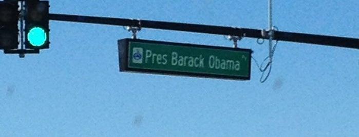 President Barack Obama Parkway is one of My Magic Orlando.