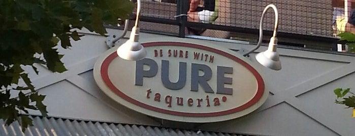 Pure Taqueria is one of Ashley'in Kaydettiği Mekanlar.