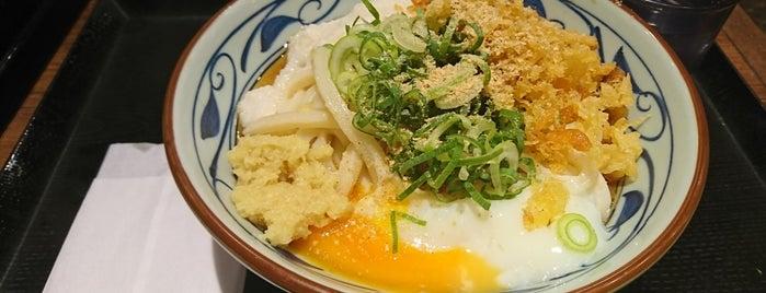 丸亀製麺 is one of うどん 行きたい.