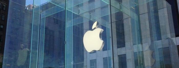 Apple Fifth Avenue is one of LON PAR NYC AUS.