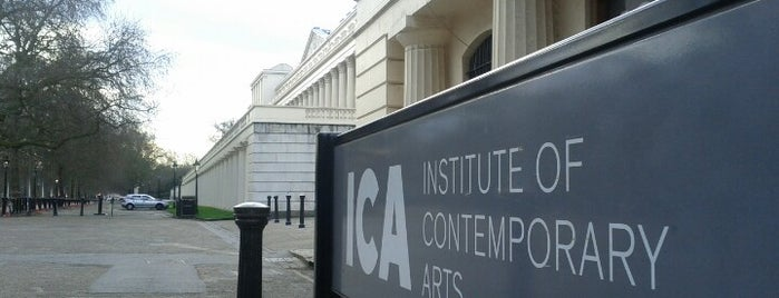 Institute of Contemporary Arts (ICA) is one of UK to-do list.