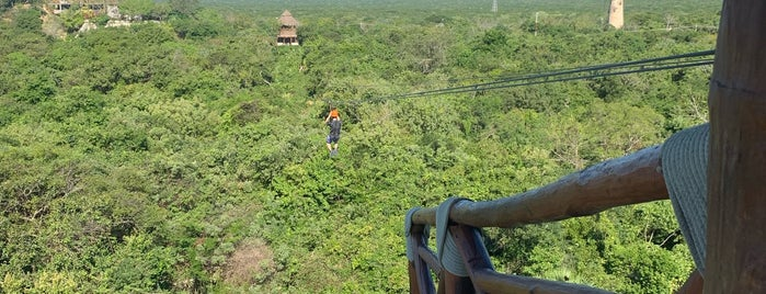 Zip Lines is one of Cancun.