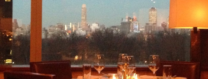 Porter House is one of Best Views of Manhattan Skyline for a New Yorker.