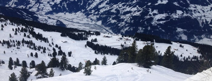 Plattenanger is one of Zillertal Arena.