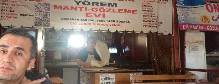 Tokatlının Yeri Yörem Mantı-Gözleme Evi is one of Yeliz : понравившиеся места.