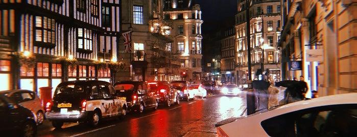 Great Marlborough Street is one of Mr T UK: сохраненные места.