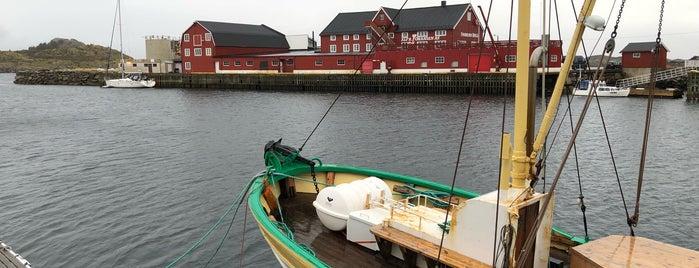 Henningsvær is one of Lofoten // Norway.