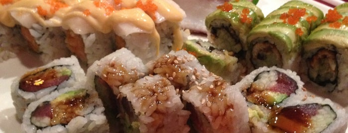 Crazy Sushi is one of 20 favorite restaurants.