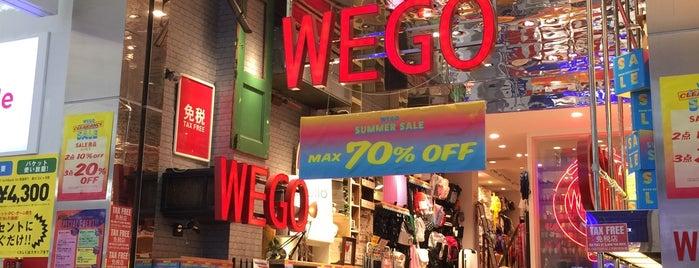 WEGO 心斎橋2号店 is one of Katariina 님이 좋아한 장소.