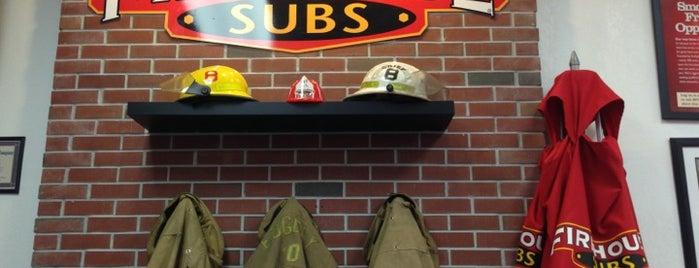 Firehouse Subs is one of Ernest'in Beğendiği Mekanlar.