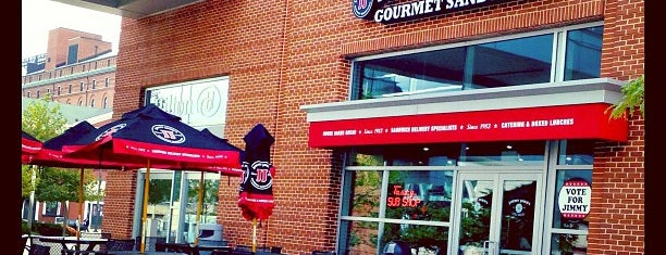 Jimmy John's is one of JODY & MY PLACES IN MD REISTERSTOWN, OWINGS MILLS,.