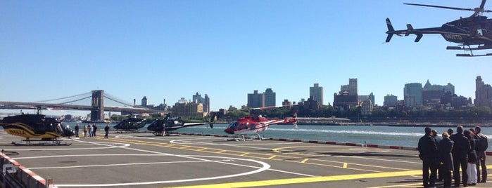 Downtown Manhattan Heliport is one of New York City, NY.