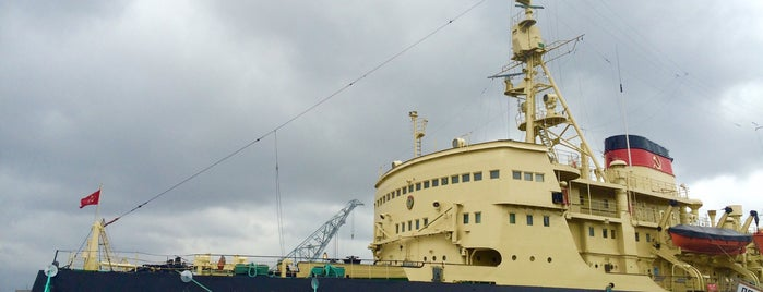 Krasin Icebreaker is one of Leningrad.