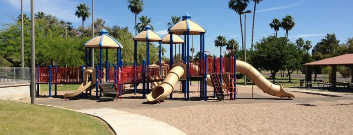 Papago Park Playground is one of My Guide to Tempe.