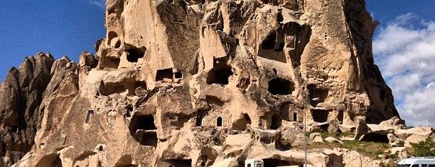 Uçhisar Kalesi is one of Breathtaking Cappadocia/Kapadokya.