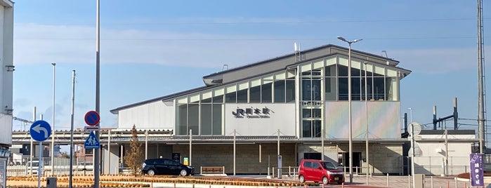 Okamoto Station is one of JR 키타칸토지방역 (JR 北関東地方の駅).