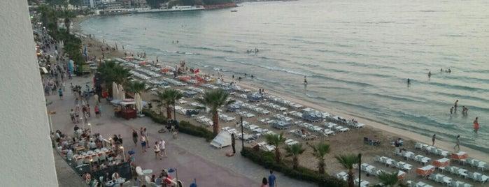 Ladies Beach Hotel & Restaurant is one of Posti salvati di Didem.