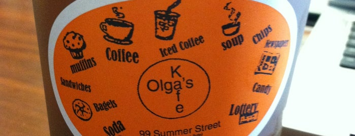 Olga's Kafe is one of Boston.