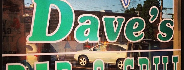 Dave's Bar & Grille is one of Orte, die Lindsaye gefallen.