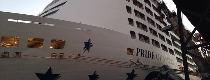 NCL Pride Of America Ship is one of Bridget 님이 좋아한 장소.