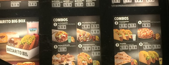 Taco Bell is one of Locais curtidos por L😎.
