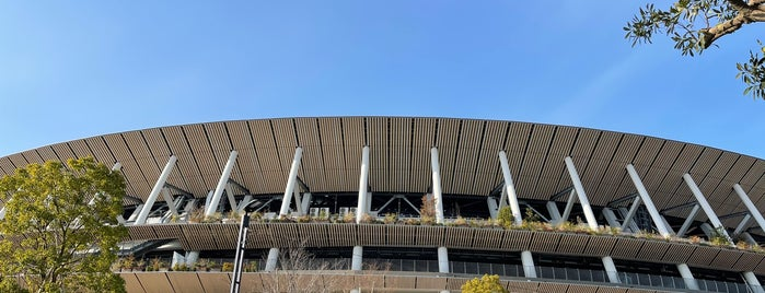 National Stadium is one of Places - Japan.