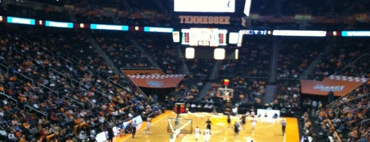 Thompson-Boling Arena is one of Sporting Venues To Visit.....