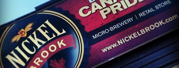 Nickel Brook Brewery is one of Ontario Craft Brewers.