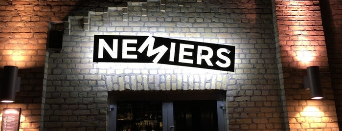 Nemiers is one of Riga.