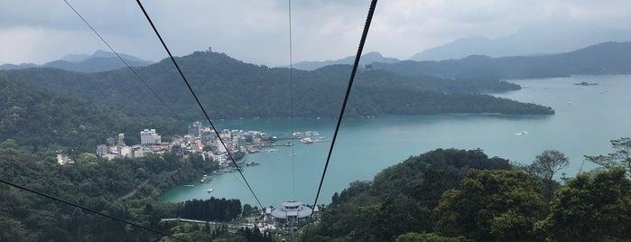 Sun Moon Lake Ropeway is one of Things to do - Nantou, Taiwan.