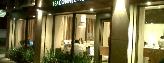 Tea Connection is one of cafes.