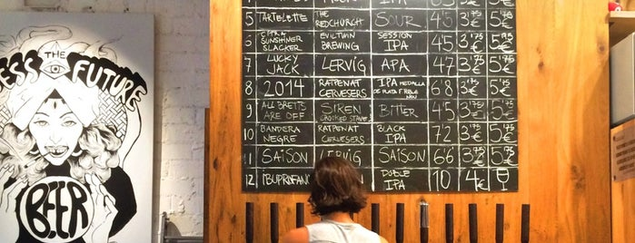 el Tap is one of Craft beer Barcelona.