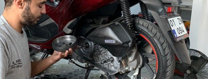Sucular Honda Motorsiklet is one of Lugares favoritos de Zafer.