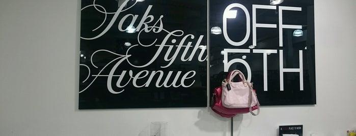 Saks Fifth Avenue OFF 5th is one of QueenMaureen : понравившиеся места.