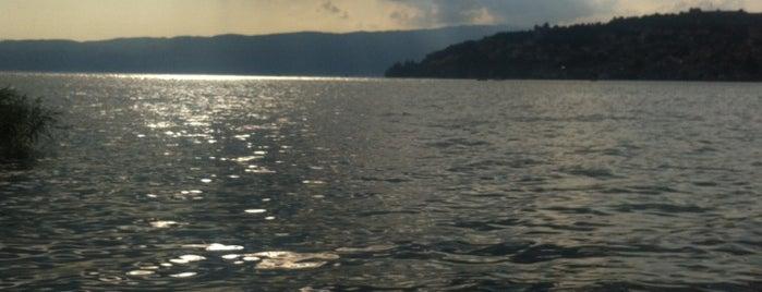 Стаза на кеј- Охридско Езеро is one of Lugares favoritos de Alejandro.
