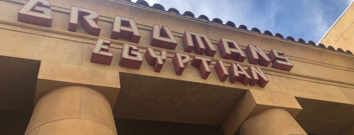 Grauman's Egyptian is one of SoCal to-do.