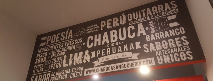 Chabuca Sanguchería Peruana is one of Lugares guardados de Lía.