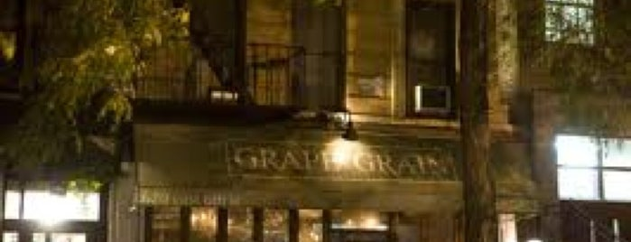 Grape and Grain is one of NYC Wine Bars.